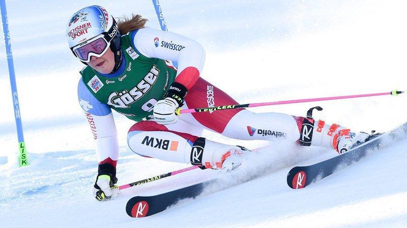 Wendy Holdener battue par Mikaela Shiffrin, premier podium pour Mélanie Meillard en Norvège
