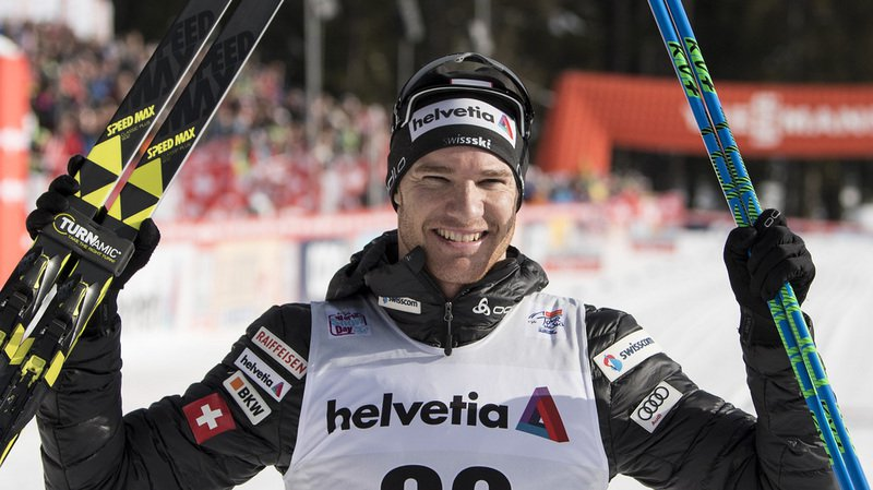 Dario Cologna a dominé la 3e étape à Lenzerheide, une poursuite en skating sur 15 km, et s'envole en tête du classement général.