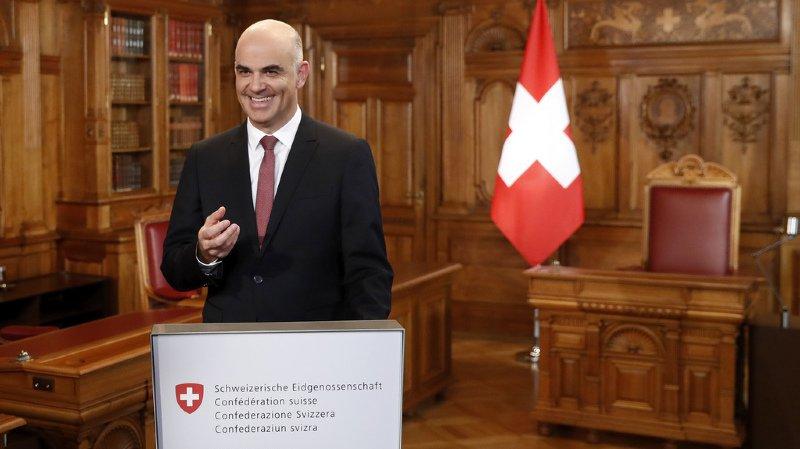 Allocution du Nouvel An: l'union de la Suisse fait sa force, estime Alain Berset