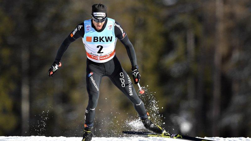 Ski nordique: Dario Cologna file tout droit vers un nouveau titre au Tour de ski
