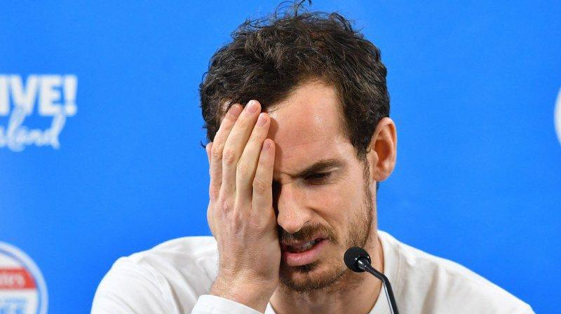 Tennis: blessé à la hanche, Andy Murray déclare forfait pour l'Open d'Australie