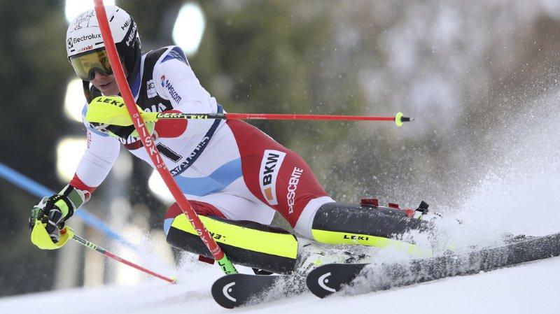 Ski alpin: Wendy Holdener se hisse au 2e rang après la 1ère manche du slalom de Zagreb