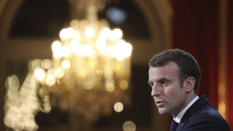 Forum économique mondial: le président français Emmanuel Macron sera présent à Davos