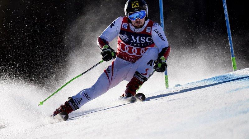 Ski alpin: la première manche du géant d'Adelboden dominée par Hirscher, Murisier 6e