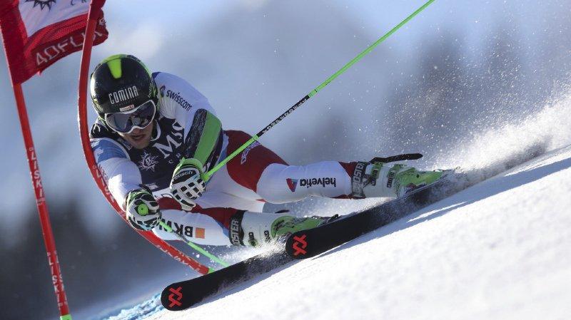 Ski alpin: Justin Murisier termine 11e du géant d'Adelboden remporté par Hirscher