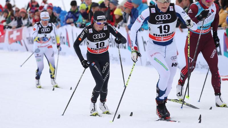 Ski nordique: la Bernoise Nathalie Von Siebenthal termine 8e du Tour de Ski