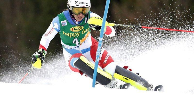 Ski alpin: Wendy Holdener termine 3e du slalom de Kranjska Gora remporté par Shiffrin