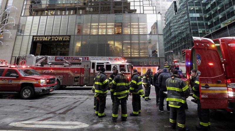 Incendie à la Trump Tower à New York: trois blessés