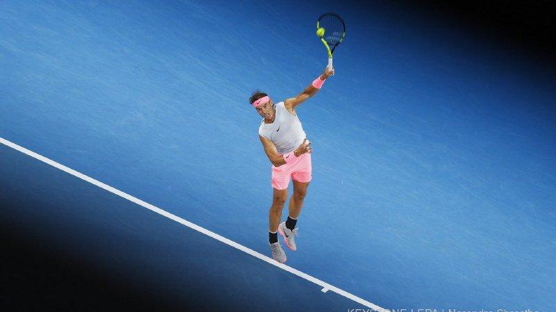 Open d'Australie: Rafael Nadal expéditif au premier tour face à Estrella Burgos