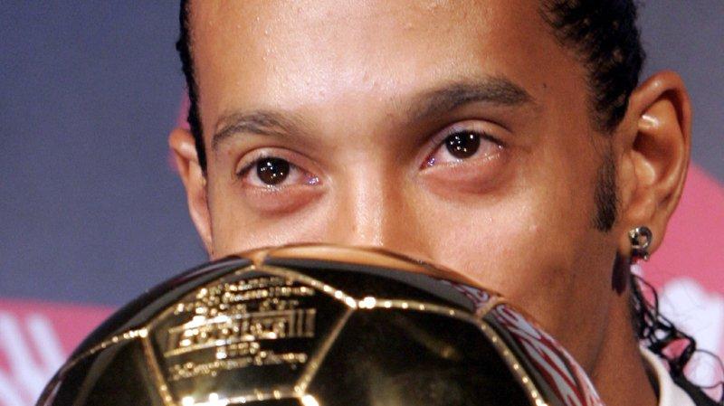 Football: Ronaldinho remercie son meilleur ami: le ballon