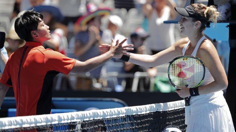 Open d'Australie: après son brillant premier tour, Belinda Bencic éliminée par une qualifiée thaïlandaise