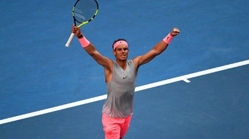 Rafael Nadal n'a pas perdu de temps sur le court.