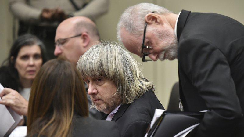 David Turpin, 57 ans, est également poursuivi pour acte obscène sur un enfant de moins de 14 ans.