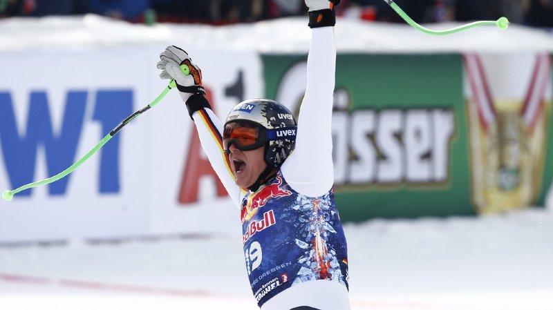 Ski alpin: Thomas Dressen ravit la première place à Beat Feuz à Kitzbühel