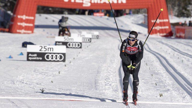 Sur le 10 kilomètres classique de Planica, la Davosienne Laurien van der Graaff est entrée dans les points avec une 30e place. La Finlandaise Krista Parmakoski s'impose.
