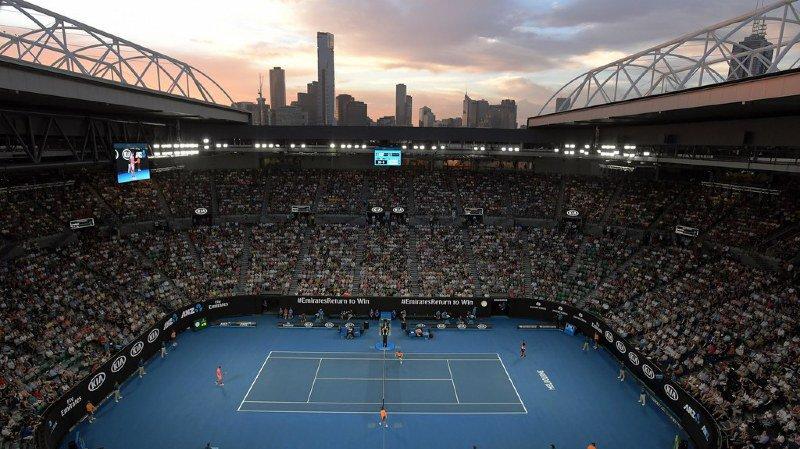 La Rod Laver Arena de Melbourne Park.