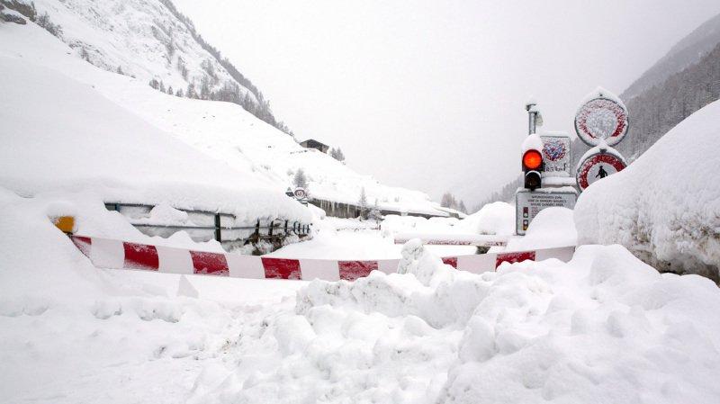 Météo: le Valais en alerte rouge, ailleurs aussi la situation reste tendue