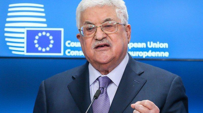 """Mahmoud Abbas appelle l'UE à reconnaître """"rapidement"""" la Palestine"""