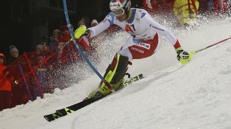Ski alpin: Daniel Yule 6e après la première manche du slalom de Schladming
