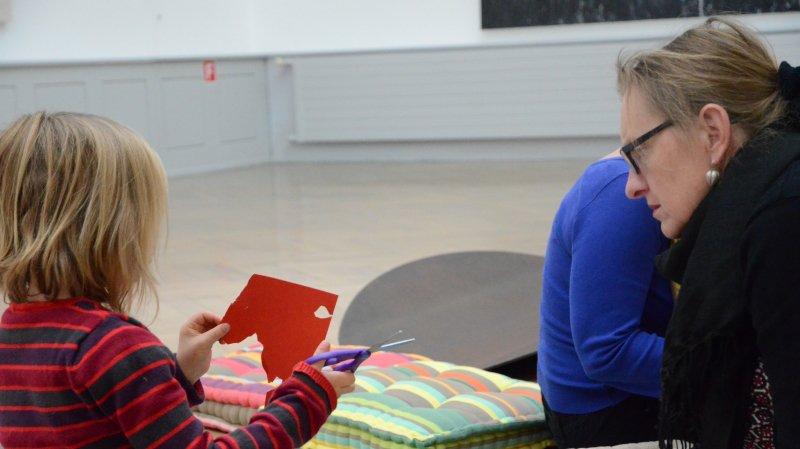 Visite pour adultes / atelier pour enfants