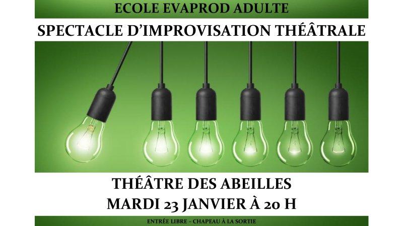 Spectacle d'improvisation théâtrale