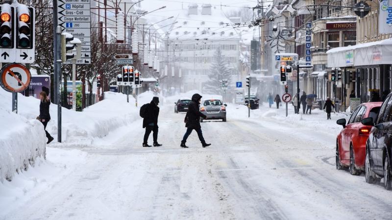 A l'image de l'hiver (ici en janvier dernier), La Chaux-de-Fonds traverse toujours une zone dépressionnaire, dont témoigne le budget 2018 voté par le Conseil général hier soir.
