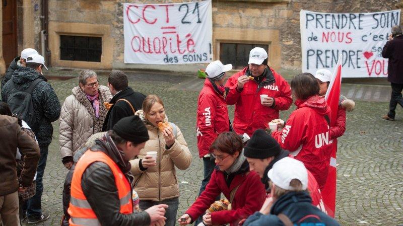 Les grévistes de la Providence  déboutés au Tribunal cantonal