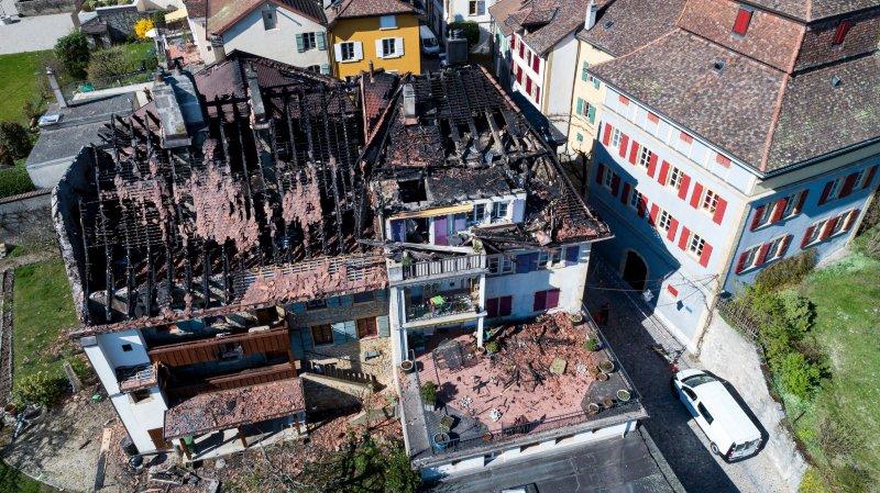Les incendies ont coûté cher au canton de Neuchâtel en 2017