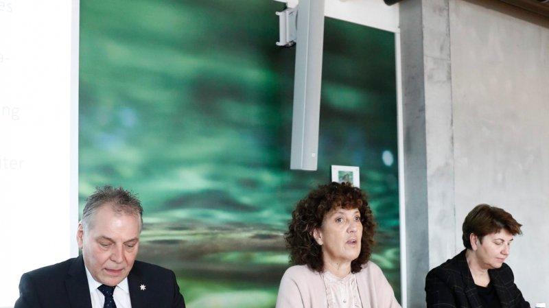 L'augmentation de la capacité du tunnel  de base doit figurer dans le projet d'aménagement 2030-2035 de la Confédération, a dit hier le comité du Lötschberg.
