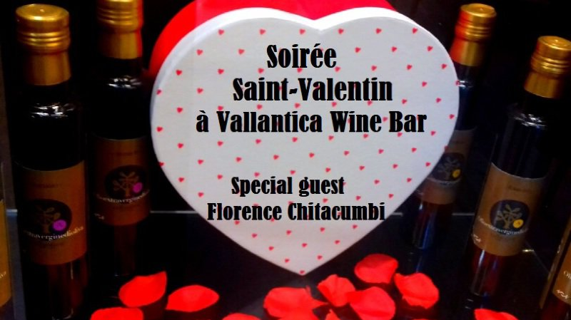 Saint-Valentin Vallantica avec Florence Chitacumbi