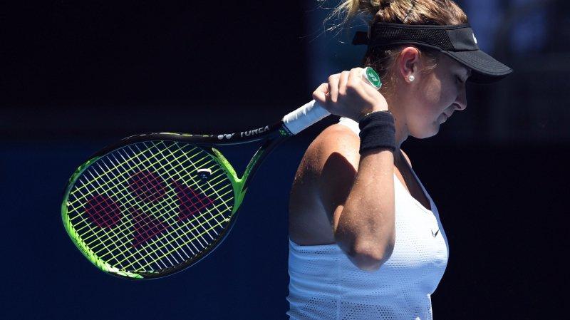 """Belinda Bencic: """"Son jeu à deux mains est désagréable"""""""