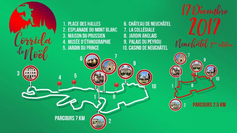 Neuchâtel: ce qu'il faut savoir sur la corrida de Noël