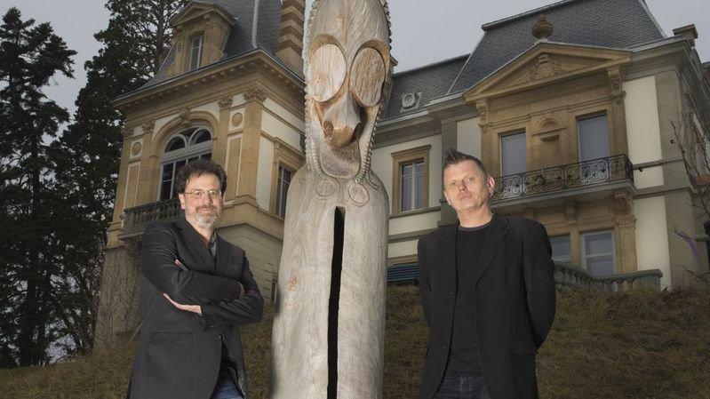 Grégoire Mayor, à gauche, et Yann Laville, à droite, codirigeront l'institution neuchâteloise.