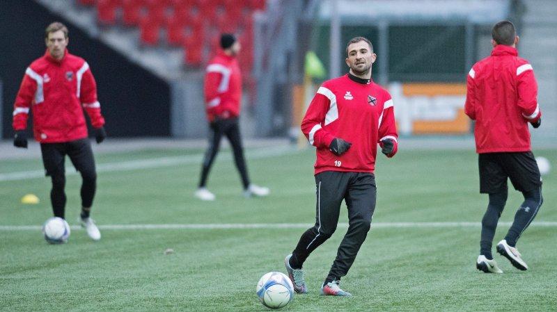 Marco Delley a inscrit un but pour son retour à Neuchâtel Xamax FCS.