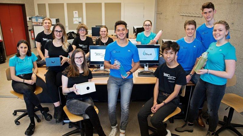 Graines d'entrepreneurs au lycée neuchâtelois Jean-Piaget