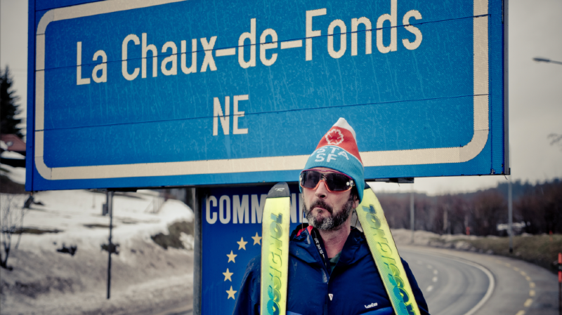 La neige utilisée ce week-end vient de La Chaux-de-Fonds.