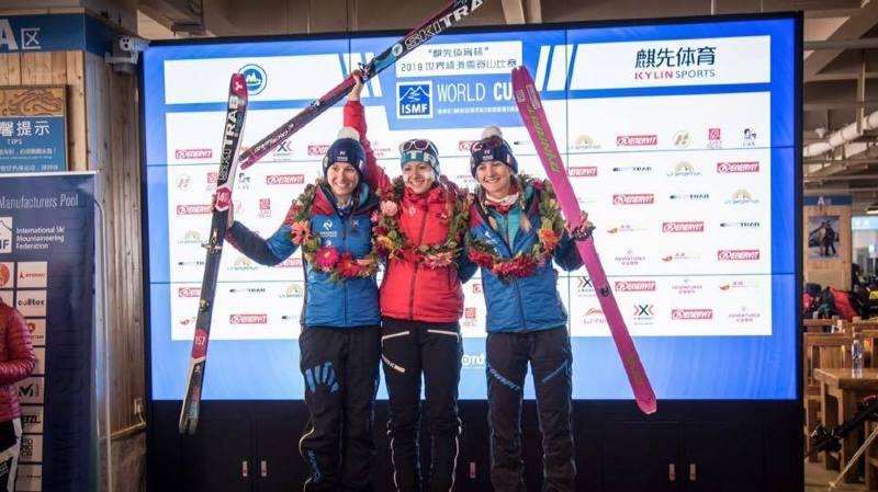 Marianne Fatton a gagné la compétition face aux meilleurs skieuses du monde.