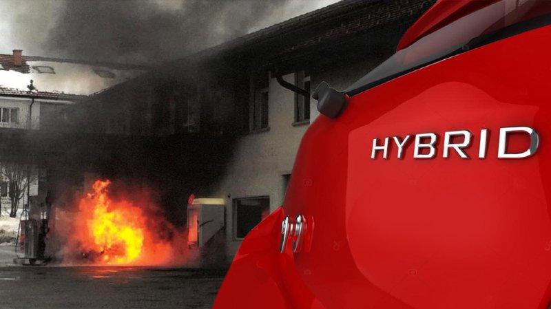 La Toyota Prius hybride qui a pris feu avait été rappelée et réparée.