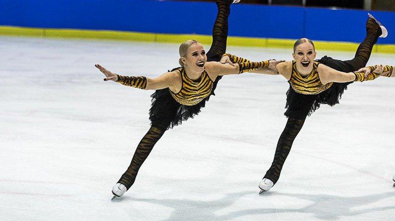 Déjà leaders après le programme court, les Finlandais des Helsinki Rockettes n'ont pas plié lors du programme libre disputé ce dimanche à la patinoire du Littoral.