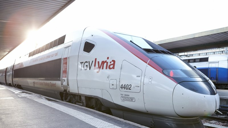 Suppression d'un TGV: pas de gros changement à Neuchâtel