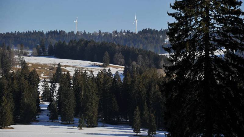 Les vols ont eu lieu sur le parking des pistes de ski de fond (image d'illustration).