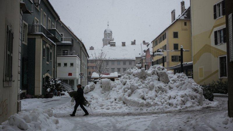Un hiver qui commence à coûter cher à La Chaux-de-Fonds