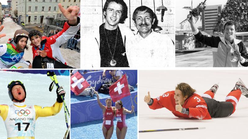 Olivia Nobs, Michel Poffet, Etienne Dagon, Didier Cuche, Magali Di Marco et Sarah Forster se sont tous distingués.