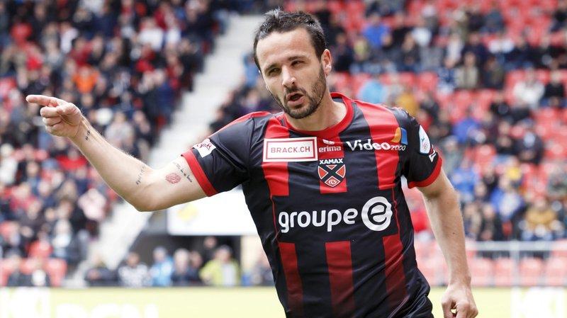 Raphaël Nuzzolo a été désigné meilleur joueur de Challenge League.