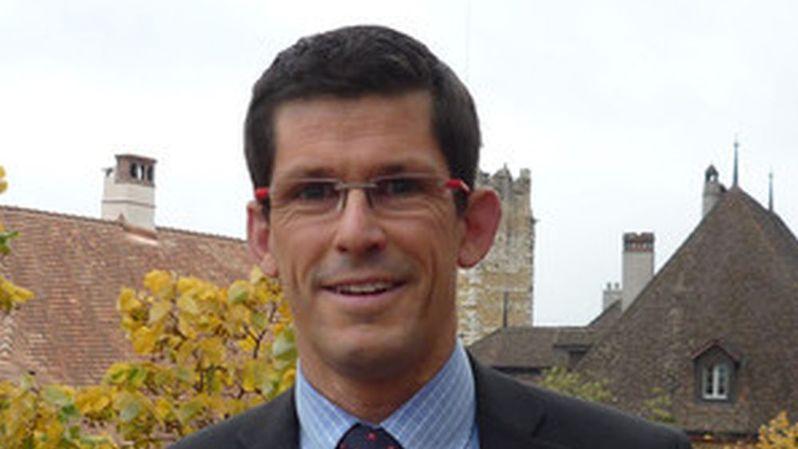Vincent Schneider, chef du Service juridique de l'Etat de Neuchâtel.