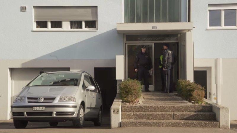 Argovie: double homicide dans un immeuble de Hausen, un suspect arrêté
