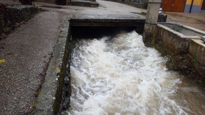 Les cours d'eau de la région débordent