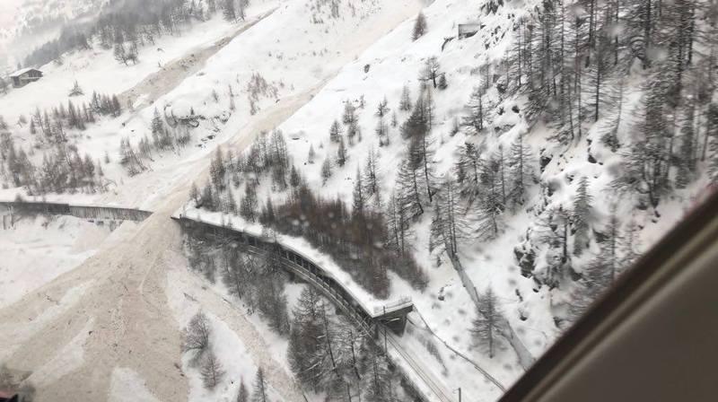 Zermatt, Gondo et la vallée de Saas coupés du monde