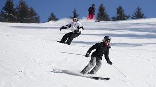 Skier à Noël sur les pistes neuchâteloises? Cela faisait quatre ans que l'on attendait ça!