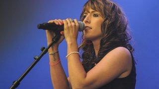 Angie Ott en finale suisse de l'Eurovision